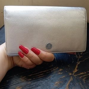 Authentic Vintage Chanel Continental Wallet